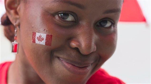 Une immigrante francophone.