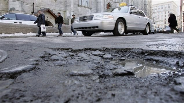For the past five years, Montreal has invested half a billion dollars to maintain its road network and address the city's estimated 60,000 to 90,000 potholes