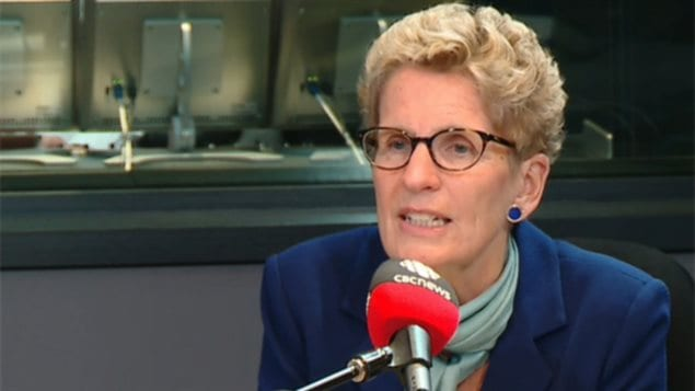 Ontario Premier Kathleen Wynne is among many female politicians who face obscene and sexist abuse on line.