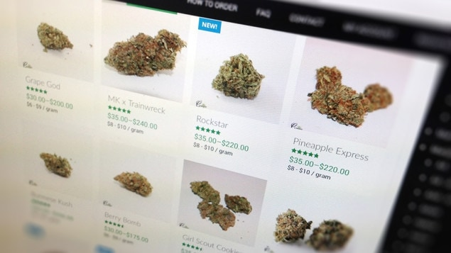 Des sites web vendent illégalement de la marijuana.
