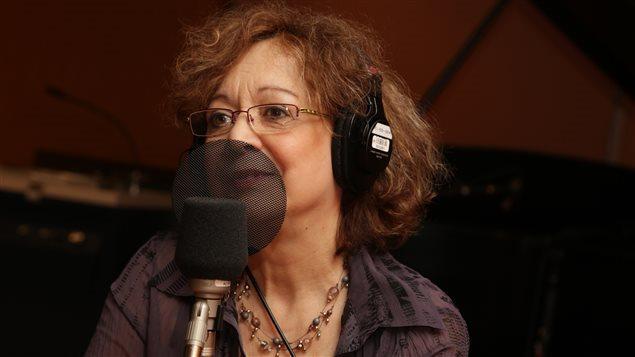 La comédienne Pauline Martin