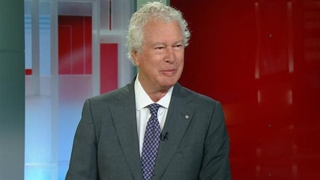 Former Canadian Ambassador Ken Taylor in a 2013 interview. The Canadians, including John Sheardown, put themselves and families at great personal risk to harbour the Americans and smuggle them out of Iran
