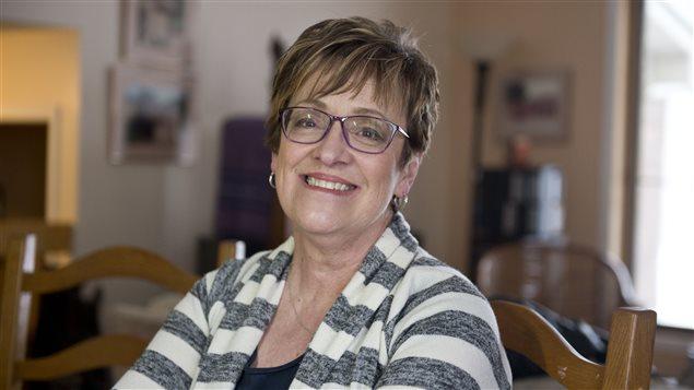 Andrée Tremblay, fondatrice et directrice (bénévole) de la Fondation Lani