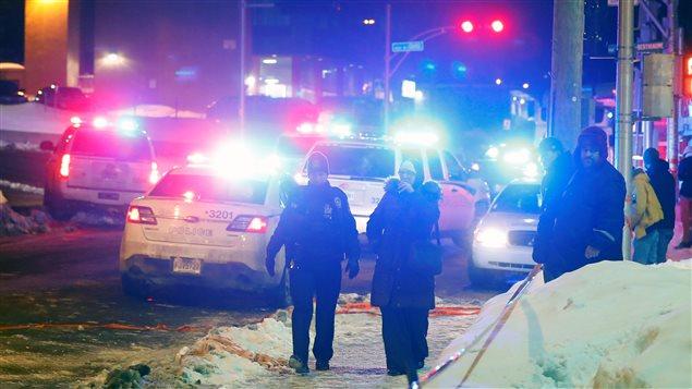 Attentat terroriste dans une mosquée à Québec le 29 janvier