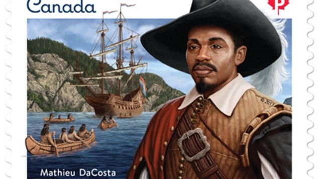 Mathieu da Costa, ni Africain, ni Euro-Africain reçoit l'hommage de Postes-Canada pour souligner son travail et son oeuvre au 17e siècle