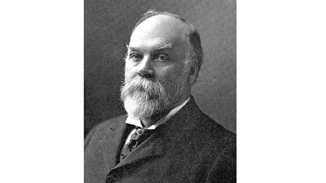 Portrait of Timothy Eaton circa Dec 1902. He became arguably the single most known name in Canada for decades.