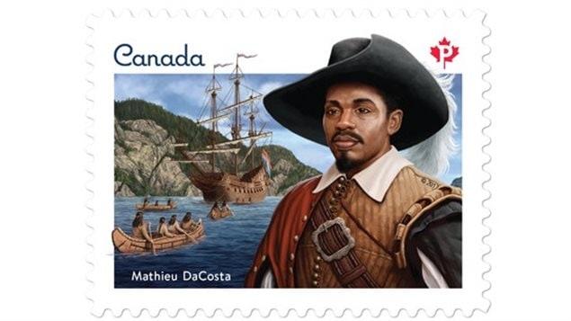 Le portrait figurant sur ce timbre du Mois de l'Histoire des Noirs 2017 est le fruit du travail du designer Andrew Perro, de l'illustrateur Ron Dollekamp et de l'illustrateur et scénarimagiste, Francis Back