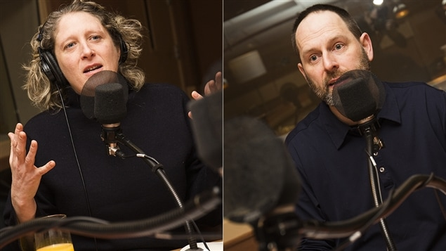 Émilie Dubreuil et Jean-François Nadeau