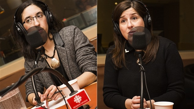 Raphaëlle Derome et Ève Tessier-Bouchard