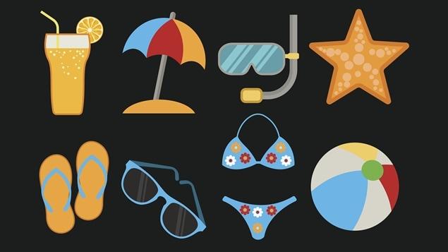 Des vacances à la plage