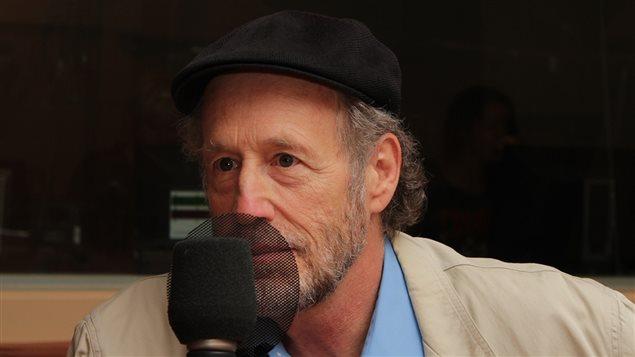 Le comédien Gabriel Arcand
