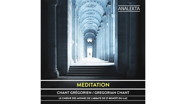 Pochette de l'album <i>Méditation</i> par le Chœur des moines de l'Abbaye de Saint-Benoît-du-Lac, paru sous étiquette Analekta