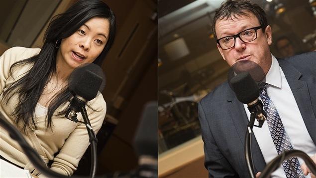 Cathy Wong et Jacques Létourneau