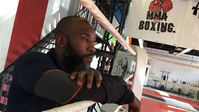 Le boxeur Ali Nestor
