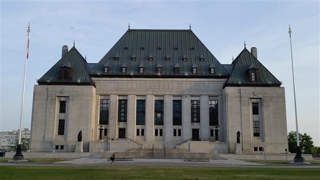 مبنى محكمة كندا العليا في أوتاوا (أرشيف).