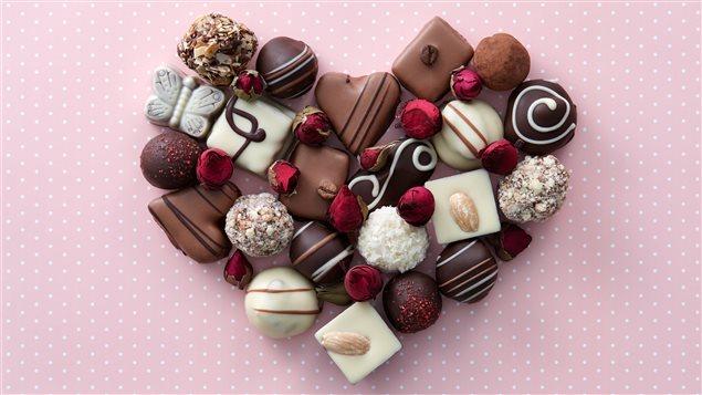Le chocolat à la St-Valentin, un classique.