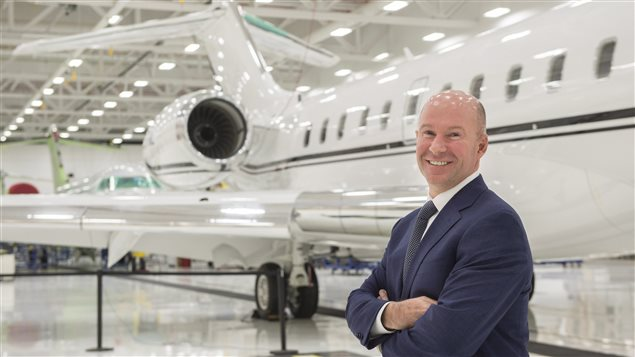 Bombardier head Alain Bellemare says the Canadian government loan will support the Global 7000 and CSeries aircraft projects.