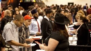 More and more often men of all ages, pushed out of tradtional *men's work* show up at job fairs looking for employment, but are often frustrated due to lack of education or skills that are no longer in demand