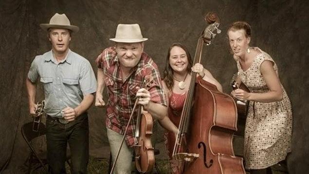 Le groupe Foghorn Stringband