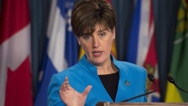 Minister of International Development and La Francophonie Marie-Claude Bibeau is set to unveil Canada's first feminist international assistance policy, which will target women's rights and gender equality, Freeland said.