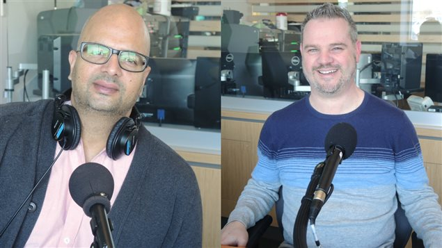 Ali Hassan et Yves Doucet