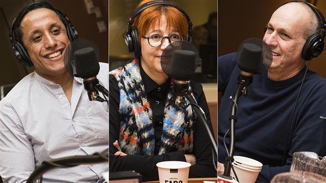 Hassan Serraji, Chantal Lamarre et Alain Gravel