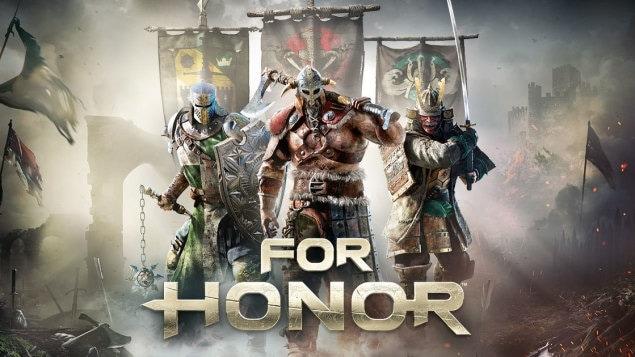 Affiche du nouveau jeu de combats au corps-à-corps, For Honor.