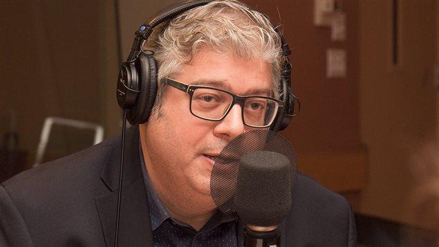 Patrick White, éditeur et rédacteur en chef d'<em>Huffington Post Québec</em>