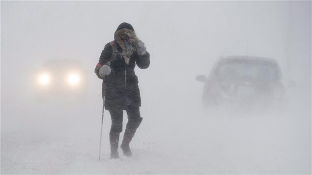 Un blizzard