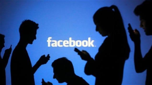 Des pictogrammes d'utilisateurs de Facebook