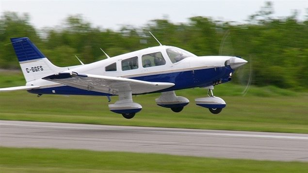 Photo d'un avion de type Piper PA-28