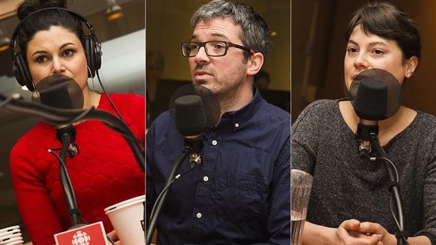 Émilie Bibeau, Matthieu Simard et Julianne Côté