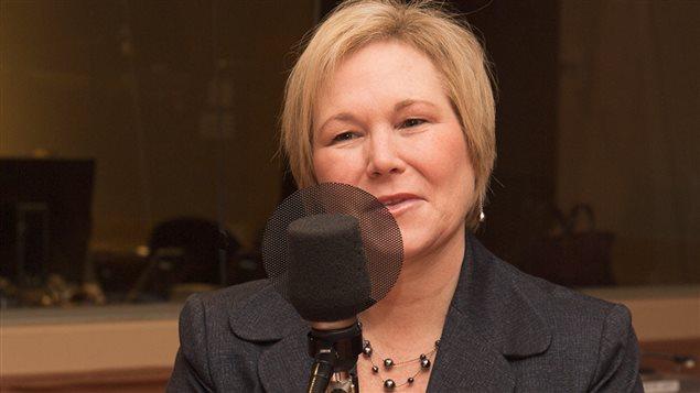 Christine Grou, présidente de l'Ordre des des psychologues du Québec