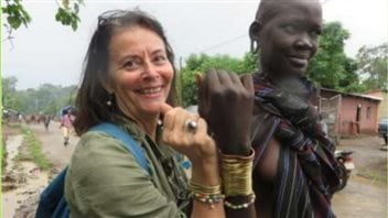 Danielle Tremblay en mission au pays des Mursis.