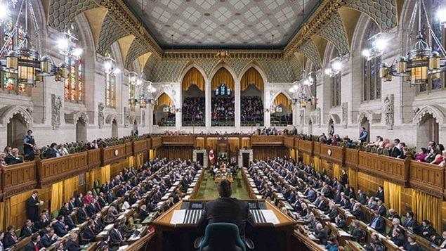 Parlement canadien une motion controvers e contre toutes for Chambre des communes