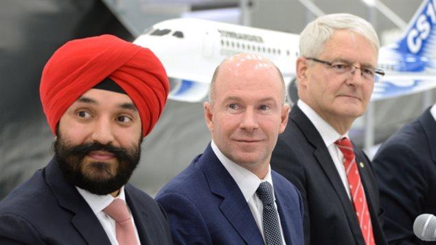 联邦政府宣布金援庞巴迪飞机制造公司