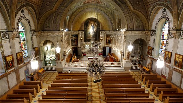 La chapelle, vue du jubé
