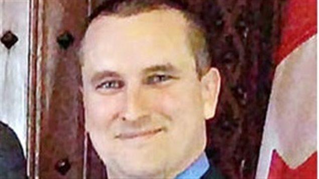 Louis Phillipe Thériault, directeur régional dans les Maritimes.