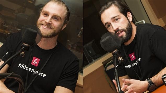 Jonathan Taillefer et Jonathan Léveilllée