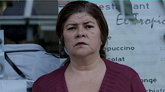 Ana Gloria Blanch en su papel de Rosalinda en Nathalie Furiosa.