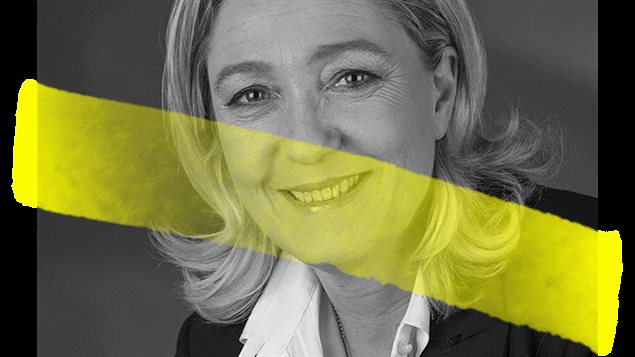 M. Le Pen, un des candidats à l'élection présidentielle française de 2017 dont les déclarations sont vérifiées par des juristes.