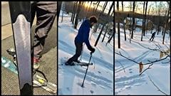Le ski Hok est un équipement polyvalent qui se situe entre le ski de fond et la raquette