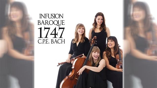 Pochette de l'album <i>C.P.E. Bach : 1747</i> d'Infusion Baroque, paru sous étiquette Leaf Music