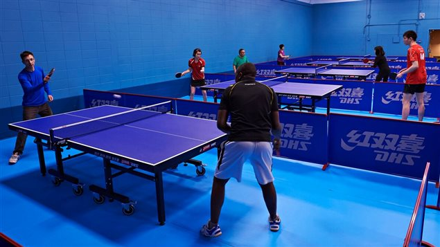Le Club de tennis de table d'Ottawa