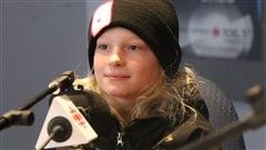 Le jeune planchiste et athlète de 9 ans, Eli Bouchard