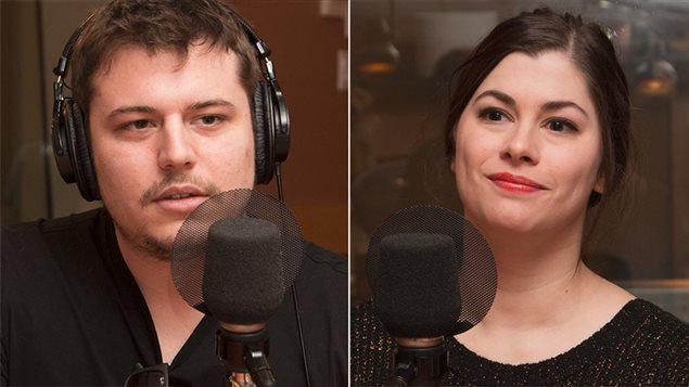 Matthieu Bonin et Julie Desjardins