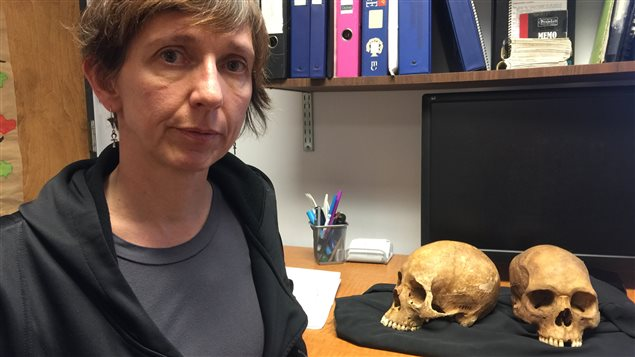 Isabelle Ribot, bioarchéologue