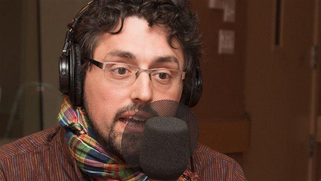 El escritor y periodista Frédérick Lavoie