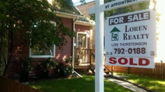 Reporter Shannon Martin was able to own a home in the western city of Winnipeg, but sold it when she moved to Toronto.