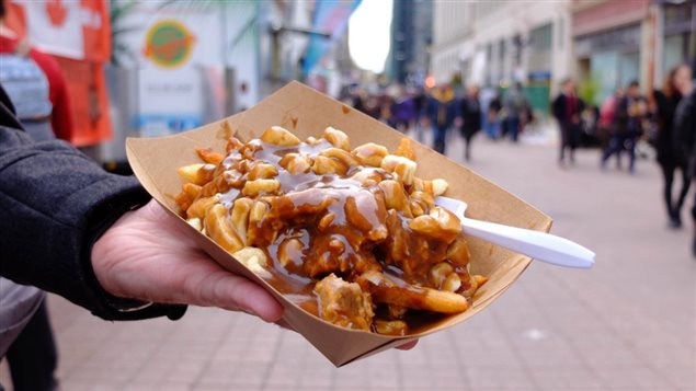 Poutine originating in Quebec, adds gravy and chees curds to fries, although now regions across Canada have since added their own particular variations.